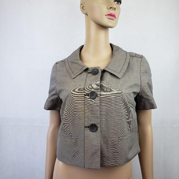 LOFT Jackets & Blazers - Ann Taylor LOFT Brown Mini Blazer Size 6